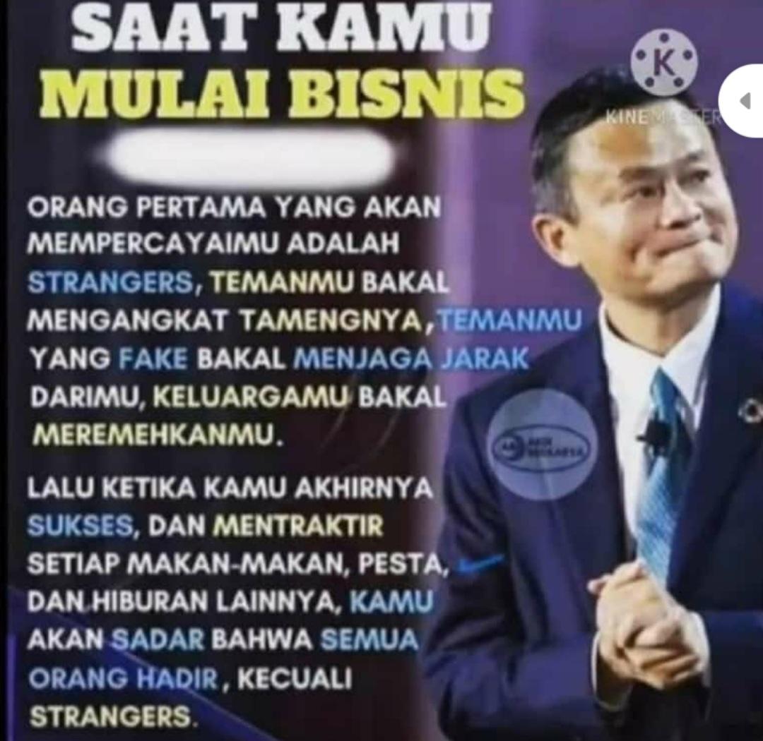 Jack Ma - Saat kami Mulai Bisnis
