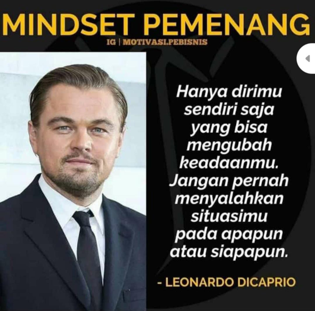 Leonardo Dicaprio - Mindset Pemenang