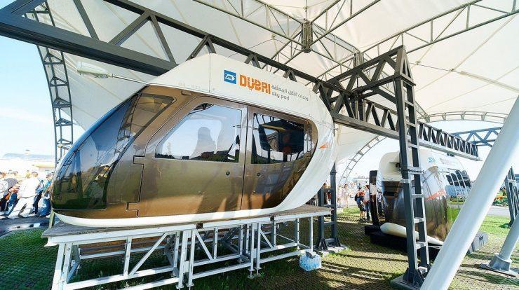 Transportasi Dawai SkyWay