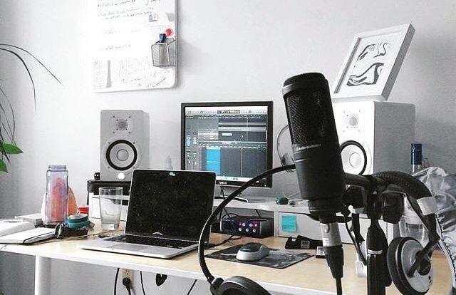 Semoga bisa bikin studio kecil2an begini